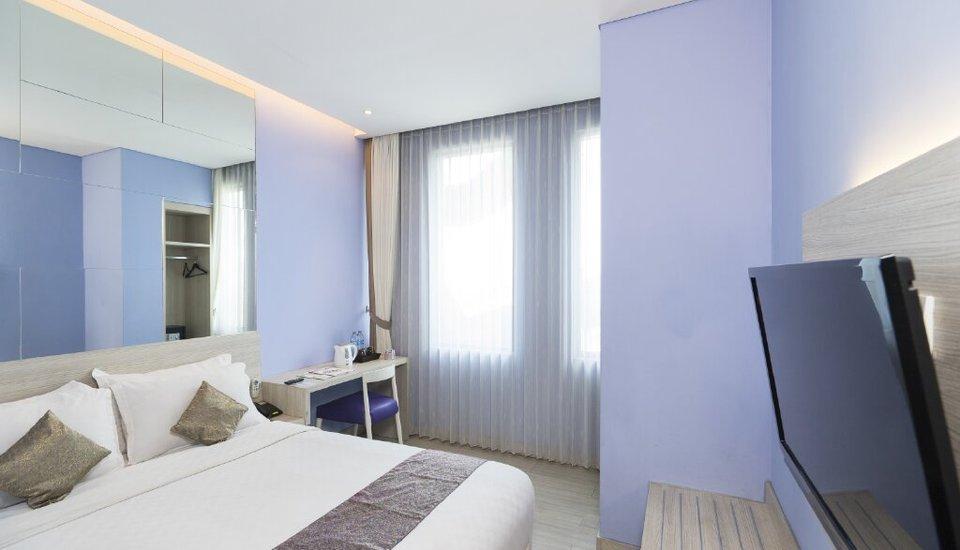 Royal City Hotel Jakarta - Deluxe Saphier (satu bed besar) untuk 2 orang