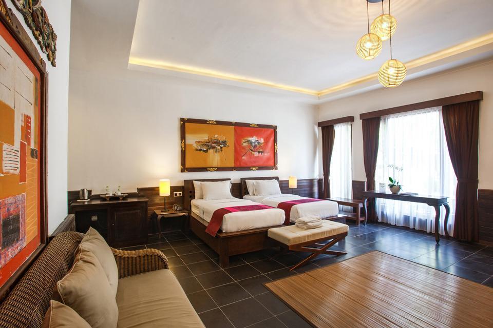 Ubud Raya Hotel Bali - Deluxe Pool Access Room Only Basic Deal