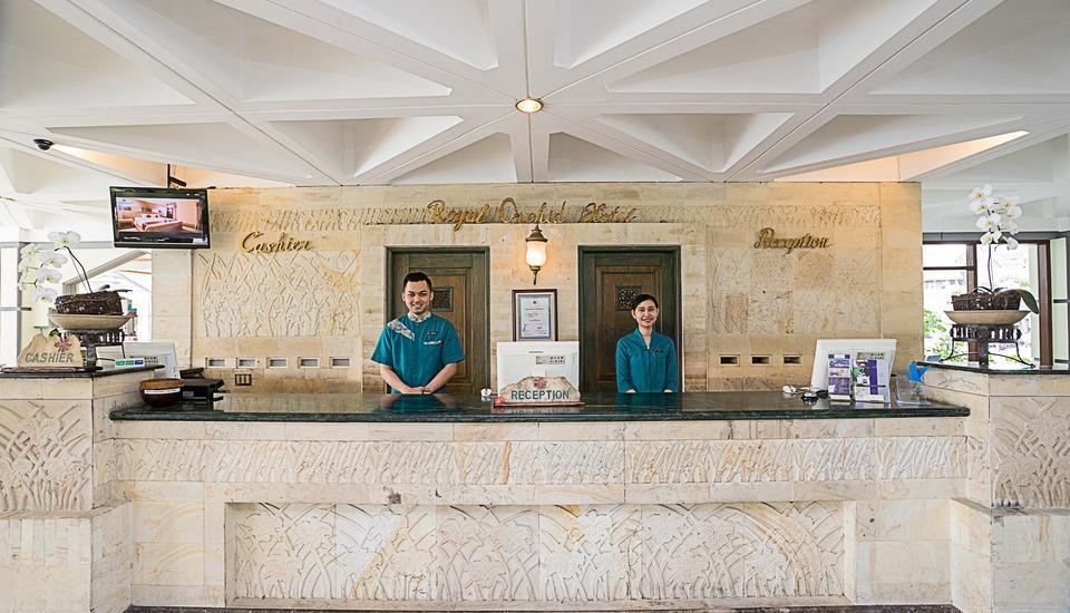 Royal Orchids Garden Hotel Malang - Ruang resepsi