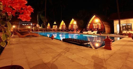 Lumbung Gede Resort Lombok - Malam di Lumbung Gede