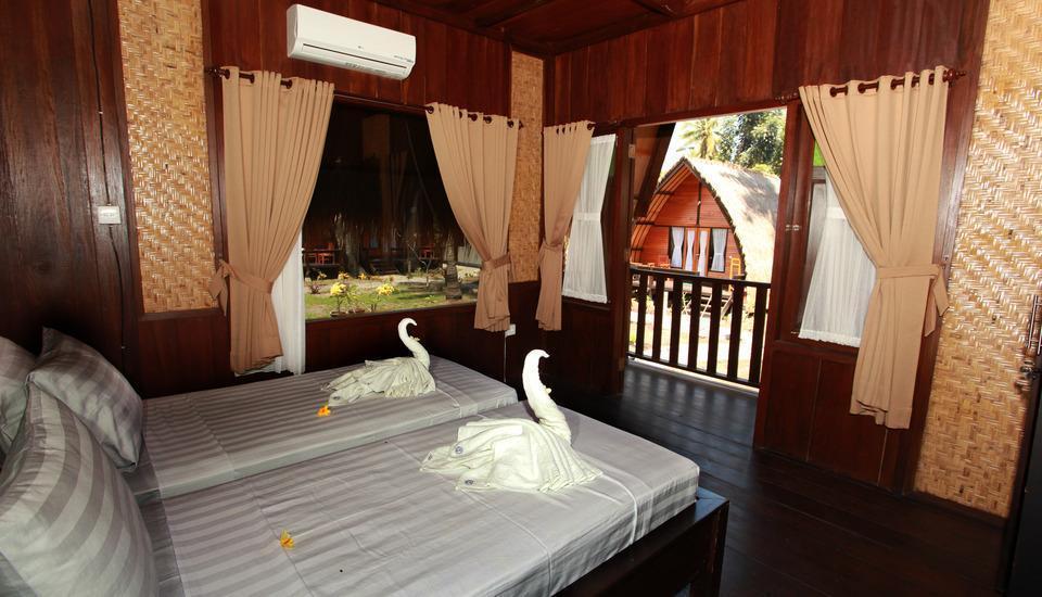 Lumbung Gede Resort Lombok - Twin Bed Room Regular Plan