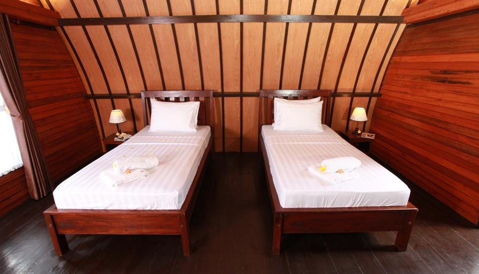Lumbung Gede Resort Lombok - Twin Bed Room Regular Plan