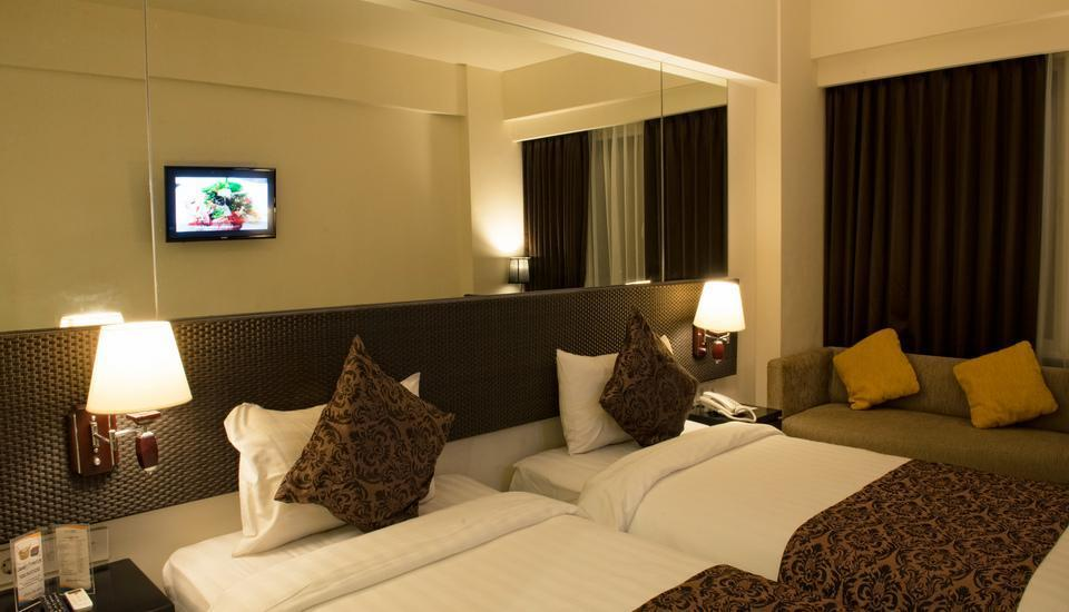 Solaris Hotel Bali - Interconnecting deluxe double and twin room Regular Plan
