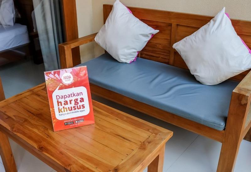 NIDA Rooms Bali Danau Tamblingan - Ruang tamu