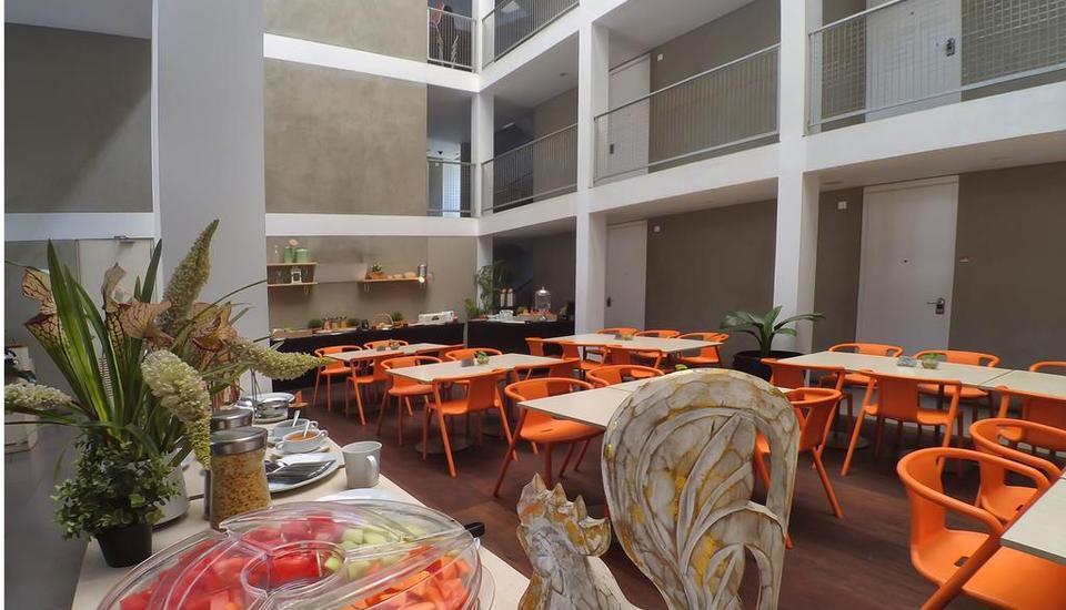 Malaka Hotel Bandung - Restaurant