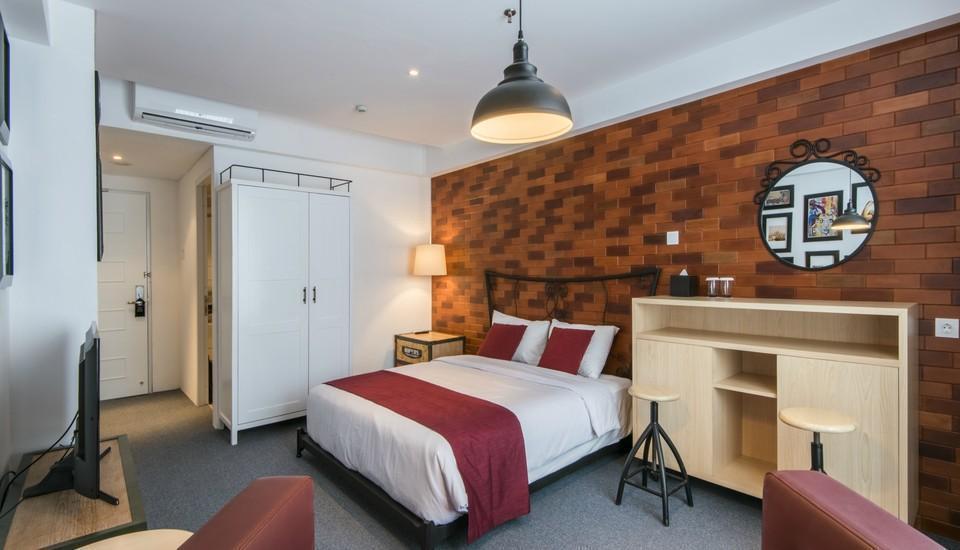 Yan's House Hotel Kuta - Deluxe Room - Bachelor's Pad