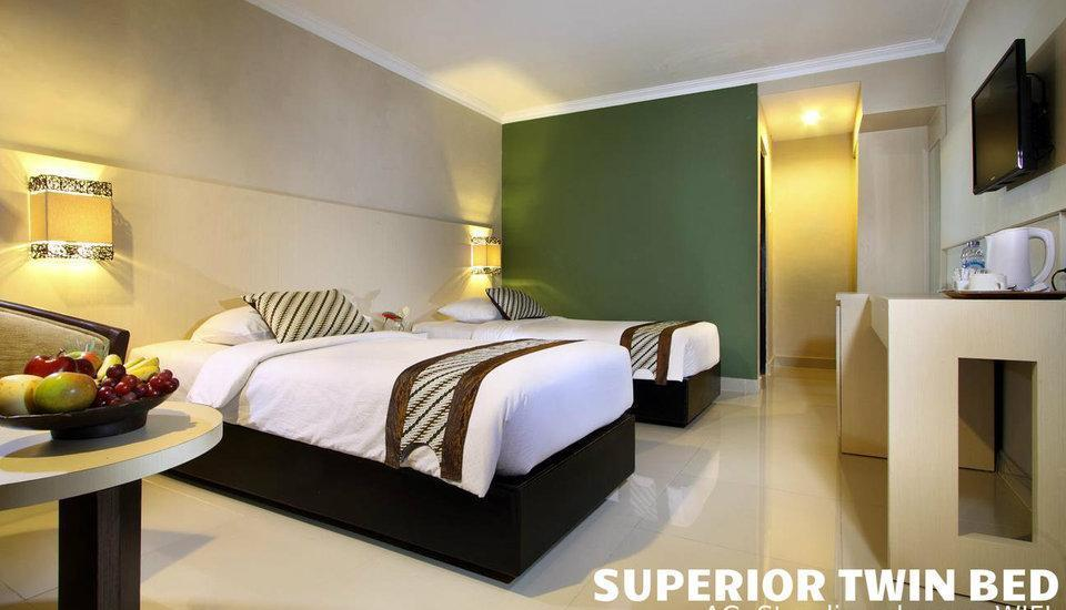 Cakra Kusuma Hotel Yogyakarta - Superior Room - Room Only Regular Plan