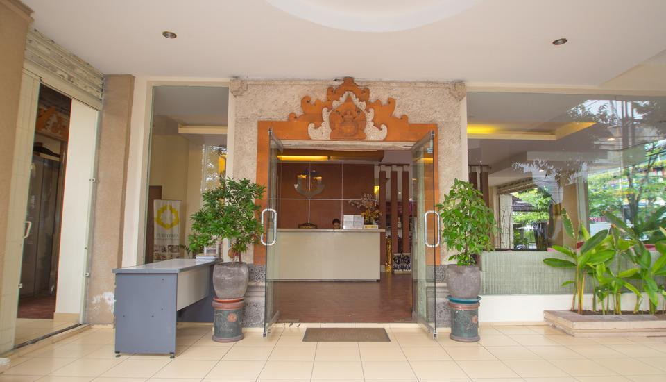 Puri Dibia Hotel Bali - Entrance