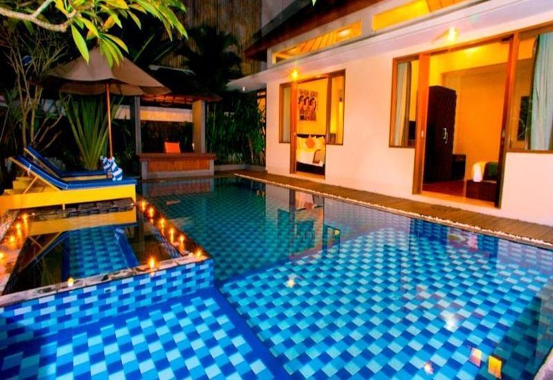 Villa Travis Bali - Kolam Renang