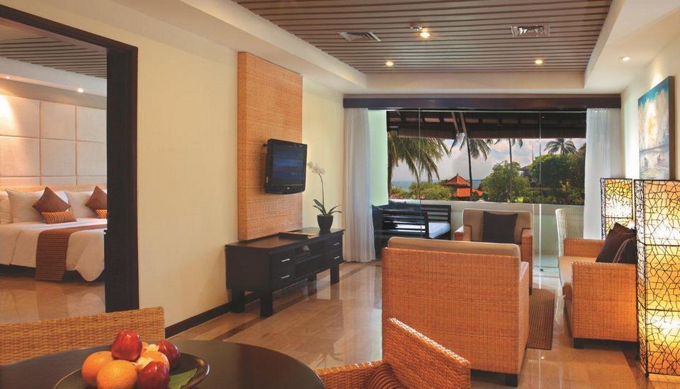 Discovery Kartika Plaza Hotel Bali - Discovery Suite - Ruang Tamu