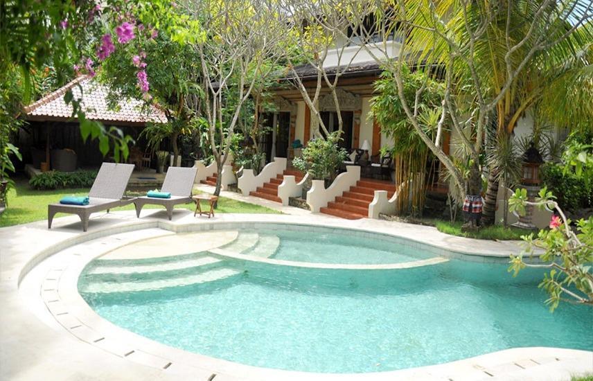 Baliana Legian Bali - Kolam Renang