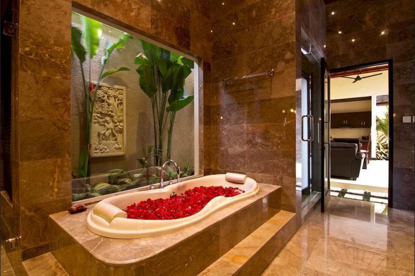My Villas in Bali - Deep Soaking Bathtub