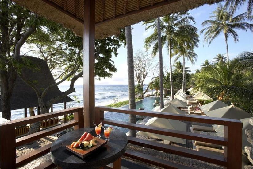 Qunci Villas Lombok - Restaurant