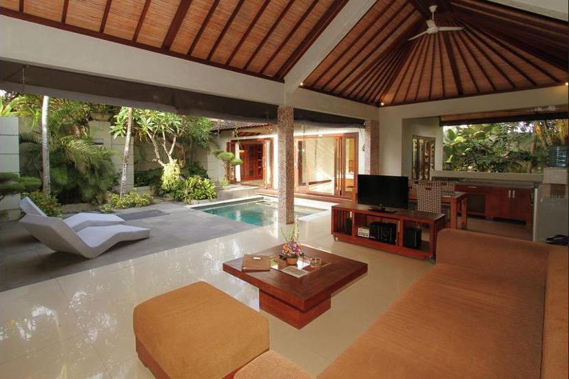 Grand Akhyati Villas & Spa Bali - Living Area