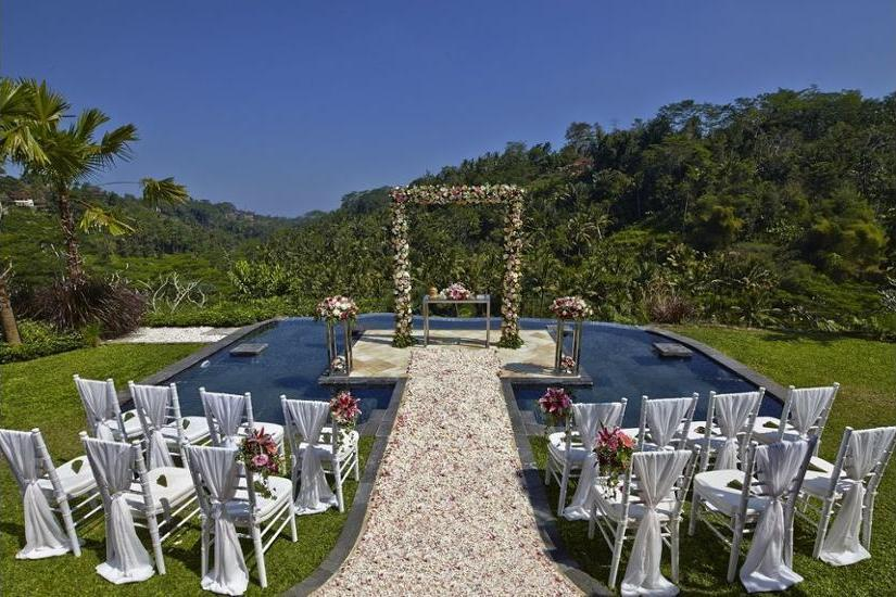 Royal Pita Maha Ubud - Outdoor Wedding Area