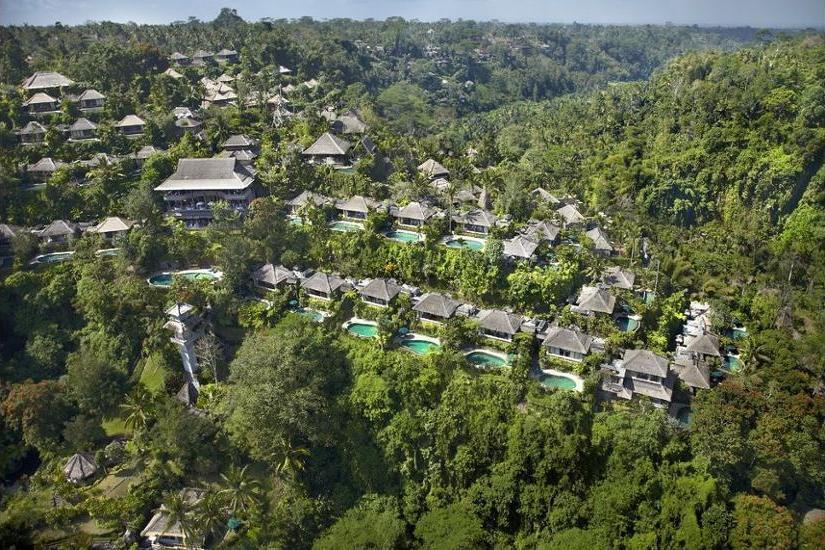 Royal Pita Maha Ubud - Aerial View