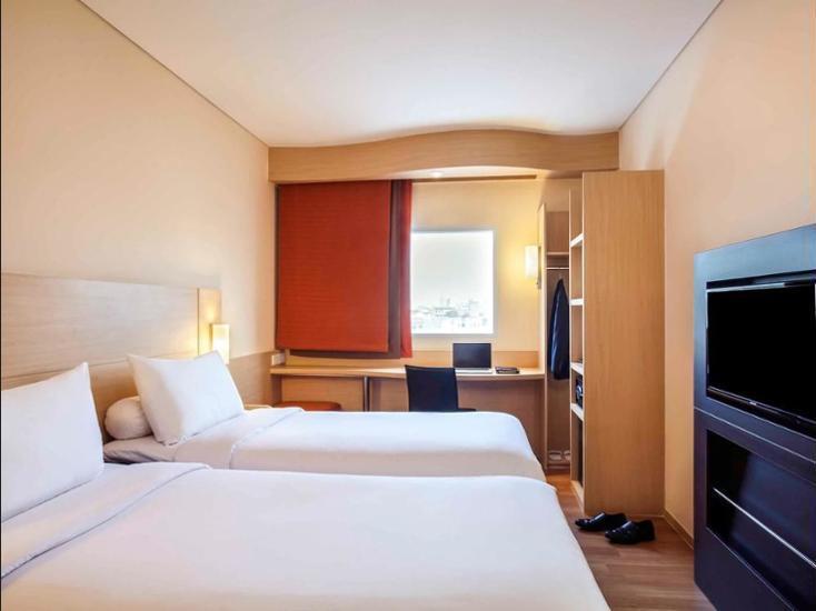 Ibis Harmoni Jakarta - Kamar Standar, 2 tempat tidur single Regular Plan