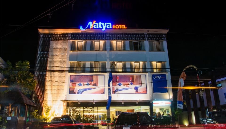 Natya Hotel Bali - Tampilan Luar Hotel