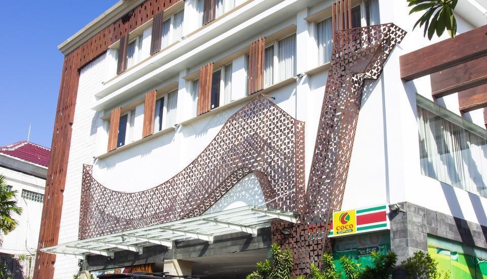 Natya Hotel Bali - Bangunan Luar Hotel