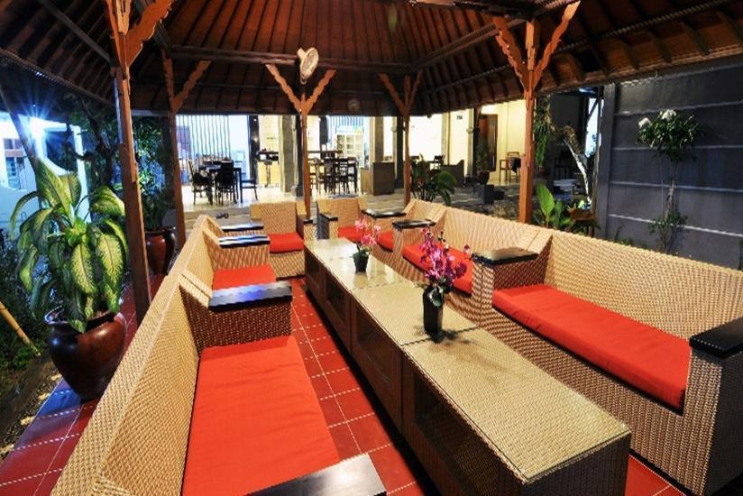 Jesen's Inn 2 Bali - Ruang Tamu