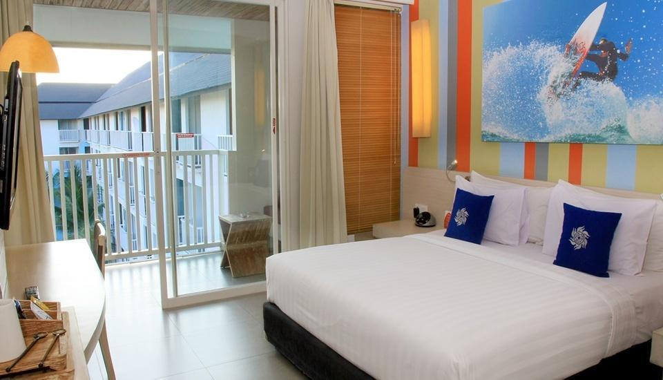 Bliss Surfer Thematic Hotel Bali - Deluxe Double / Twin Room Only Last Minutes promotion