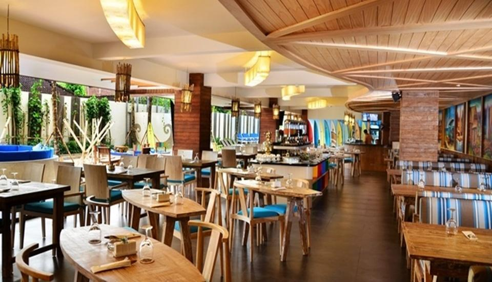 Bliss Surfer Thematic Hotel Bali - Restoran