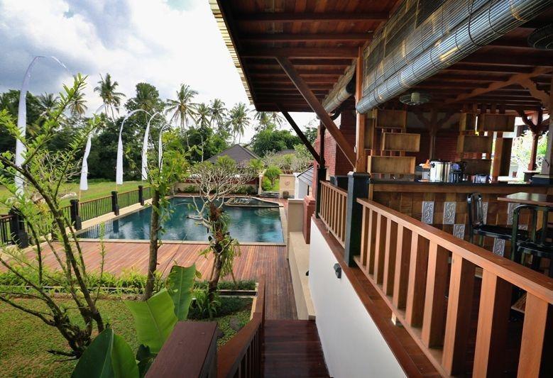 Onje Villa Ubud - Tampilan Luar Hotel