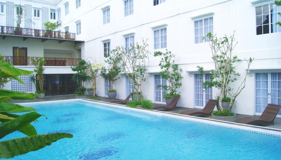 D'Senopati Malioboro Grand Hotel Yogyakarta - Teras