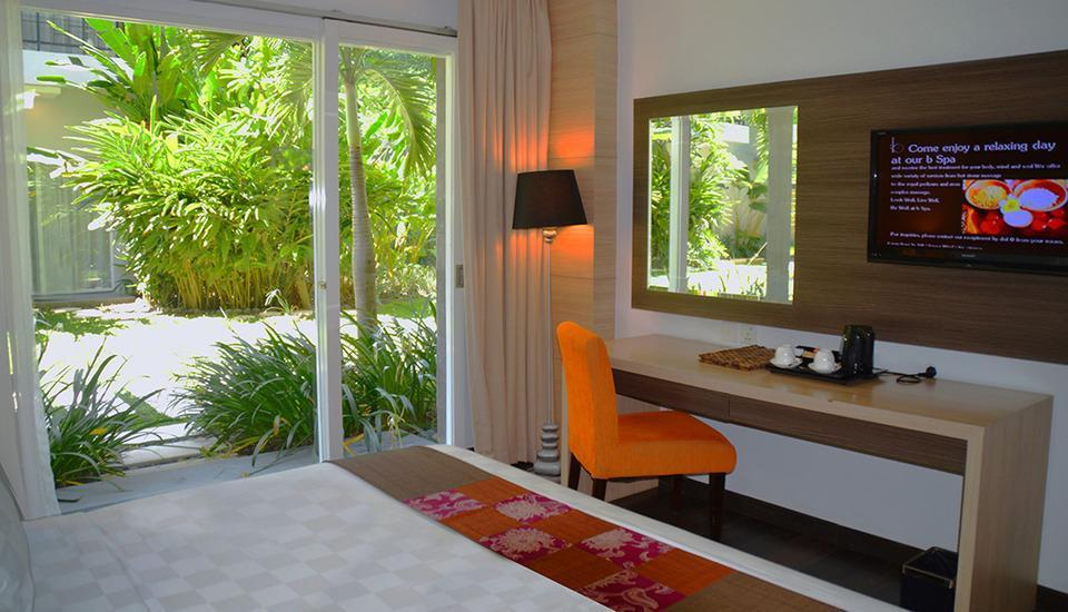 bHotel Bali & Spa - Deluxe Garden Terrace Basic Deal 40%