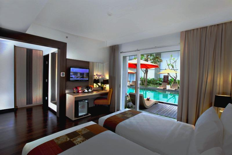 bHotel Bali & Spa - Deluxe Pool Terrace with Breakfast Basic Deal 40%