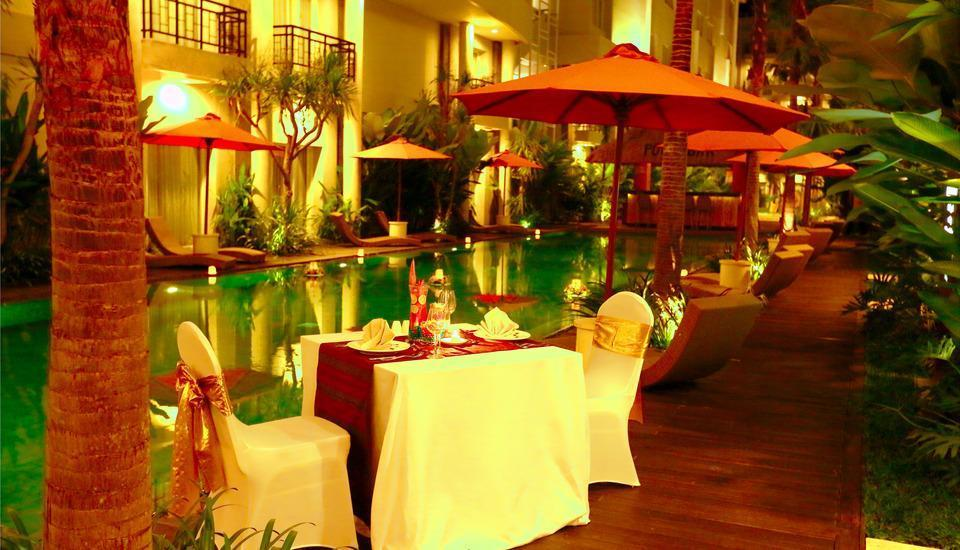 bHotel Bali & Spa - Romantic Dinner