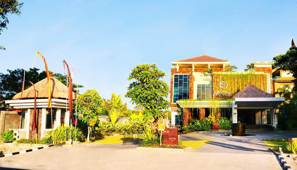 bHotel Bali & Spa - Entrance