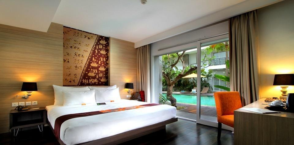 bHotel Bali & Spa - Deluxe Pool Terrace with Breakfast A Day Time Deal