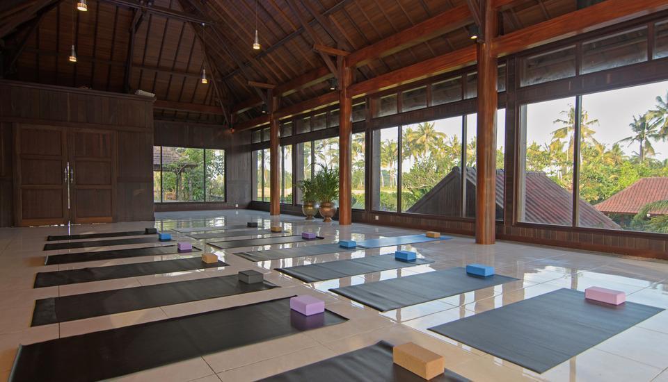 Bhuwana Ubud Hotel Bali - Ruang Yoga