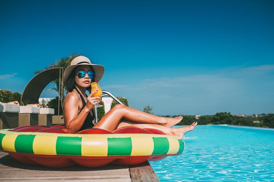 Infinity8 Bali - pool