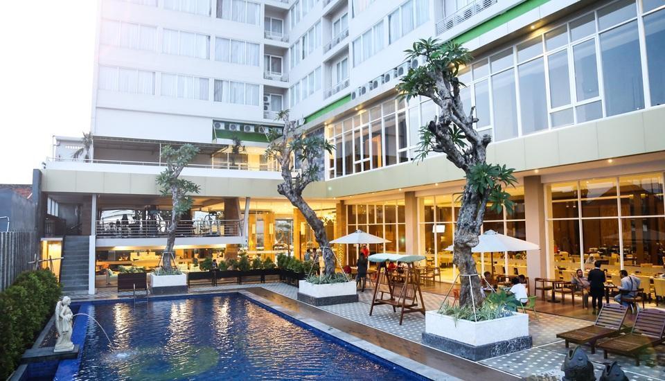 Gets Hotel Semarang - kolam renang