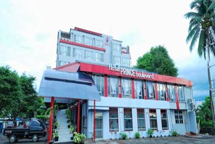 Hotel Prince Boulevard Manado - Tampilan Luar Hotel