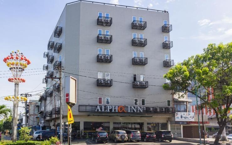 Alpha Inn Medan - bangunan