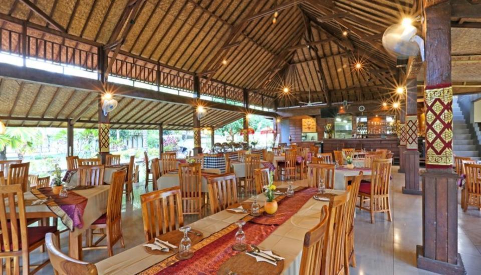 Bhanuswari Resort & Spa Bali - Ruang makan