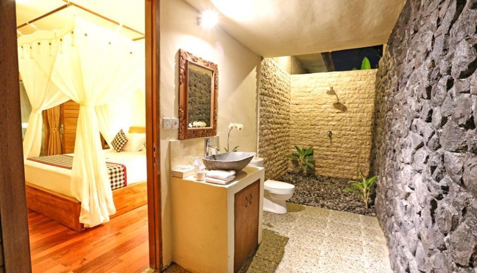 Bhanuswari Resort & Spa Bali - Kamar mandi