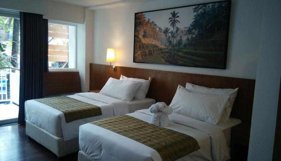 Garden View Legian - Deluxe Pool Side Room Only Last Minute Disc 17% - NON REFUNDABLE
