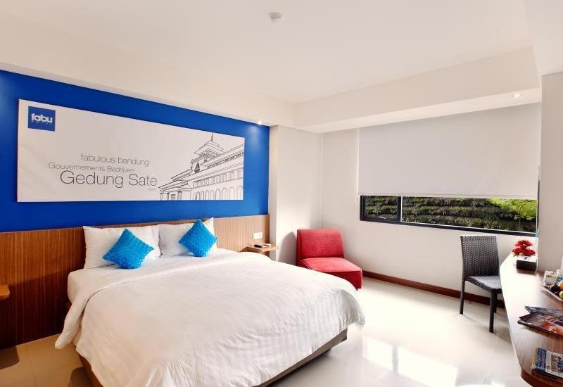 Fabu Hotel Bandung - Deluxe Room Only Regular Plan