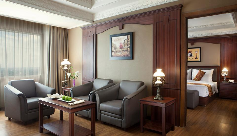 Hotel The Sahid Rich Jogja - Living Room (corner suite)
