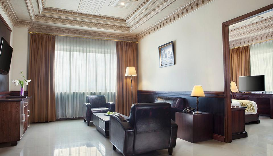 Hotel The Sahid Rich Jogja - Living Room (execuitive suite)
