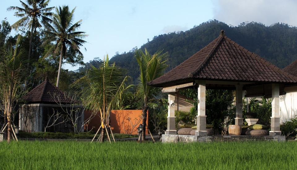 Villa Pelangi  Sidemen - Taman