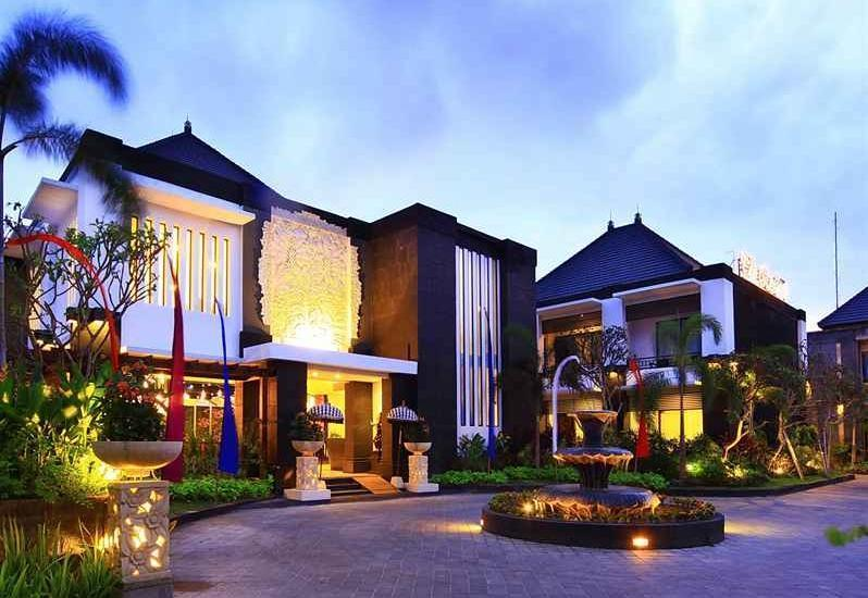 The Radiant Hotel Bali - Appearance.