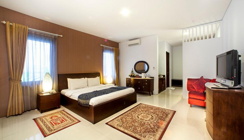 The Radiant Hotel Bali - Executive Bedroom