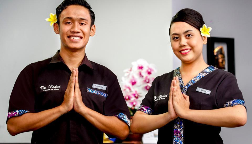 The Radiant Hotel Bali - Receptionist