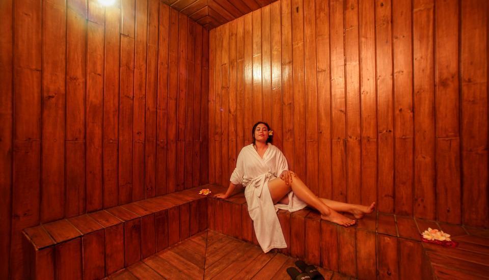 The Radiant Hotel Bali - Sauna
