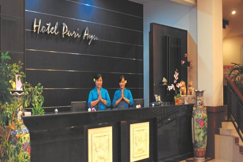 Hotel Puri Ayu Bali - Resepsionis